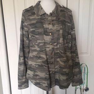 F21+ Army Jacket
